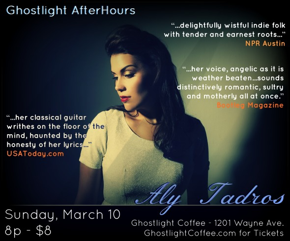 Aly Tadros March 10 Ghostlight Coffee, Dayton, OH