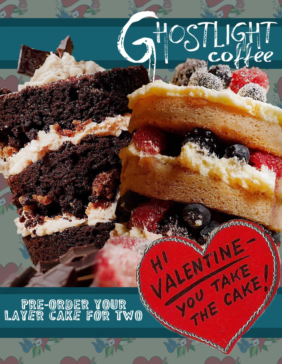 Layer Cake for Two Order Now!